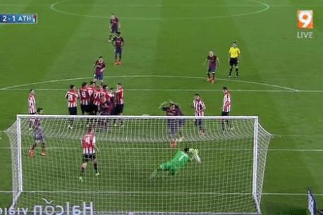Lionel Messi Scores Free-Kick to Complete Barcelona Comeback vs. Bilbao