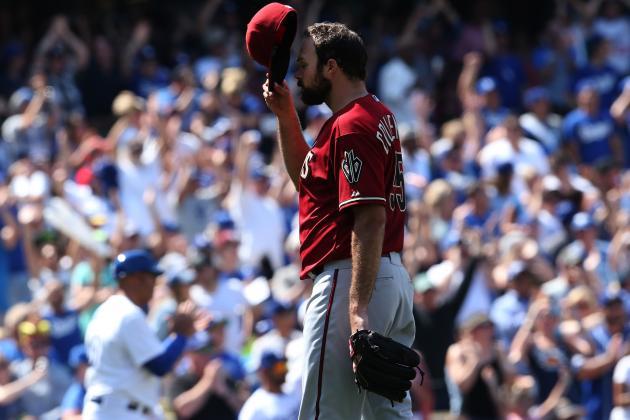 Dodgers Top D-Backs Behind Puig's Bat, Arm