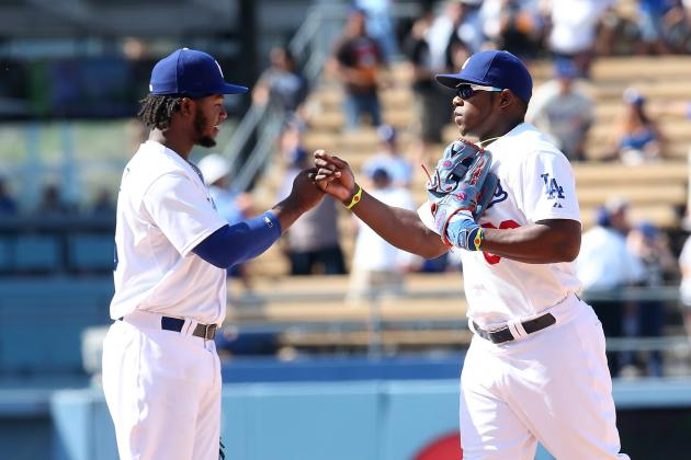 Yasiel Puig Stars in Dodgers' 4-1 Victory over Diamondbacks
