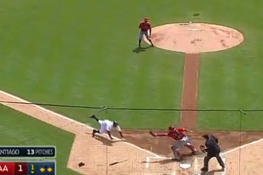 Los Angeles Angels Commit 3 Errors During 1 Play