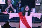 Man Dressed as Jesus Booed at Bruins Game