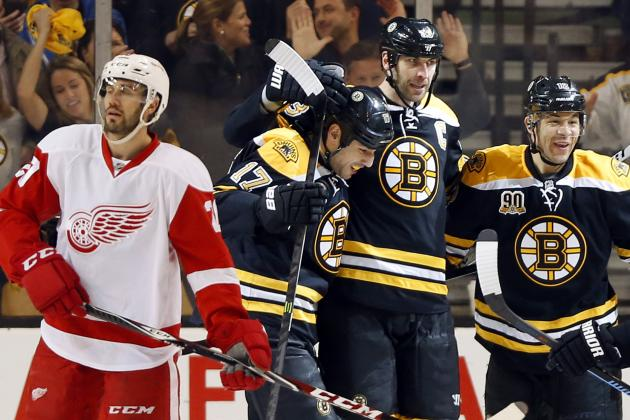 Detroit Red Wings Learned Valuable Lesson with Split Against Boston Bruins