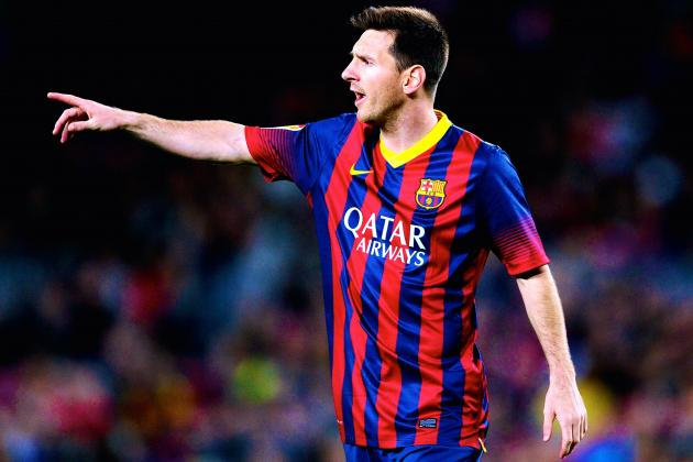 Lionel Messi Strike Keeps Barcelona Clinging on in Title Race
