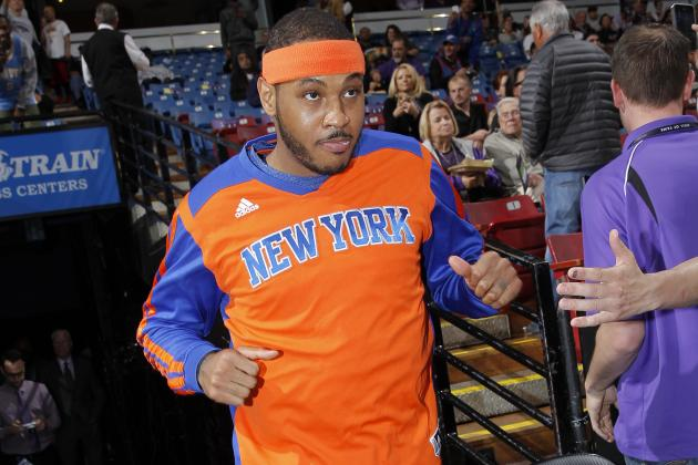 Will Projected NBA Salary-Cap Increase Open Door for Carmelo Anthony Exit?