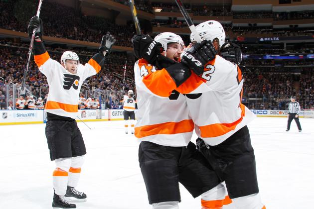 Philadelphia Flyers Save Their Season for 1st of Maybe Many Times in New York