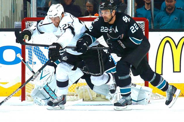 Los Angeles Kings vs. San Jose Sharks Game 2: Live Score and Highlights
