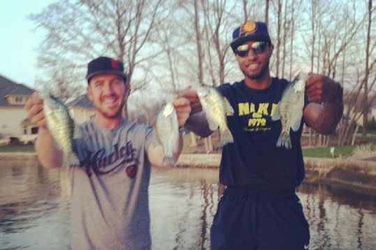 Paul George Has Literally Gone Fishin' After Ugly Game 1 Loss to No. 8 Hawks