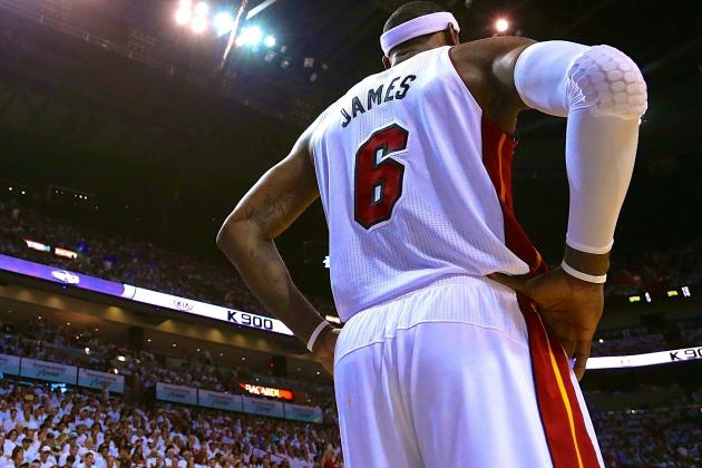 LeBron James Passes Larry Bird for 8th in Career Playoff Scoring
