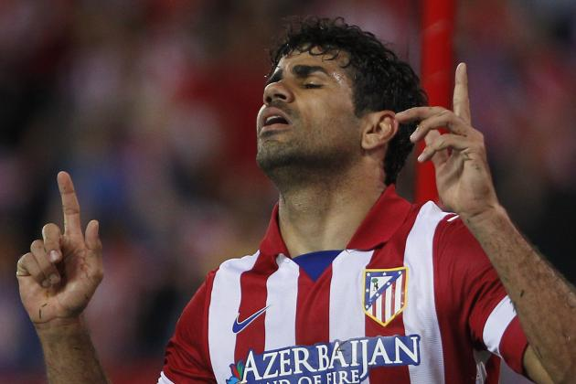 Imagining a Chelsea Team with Atletico Madrid's Diego Costa in Attack
