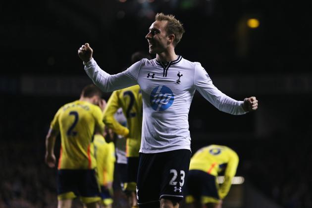 Christian Eriksen Is the Man Tottenham Hotspur Should Build Around, Not Sell