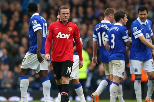 Manchester United Lack Direction, Penetration and Shape; Everton Kill on Counter
