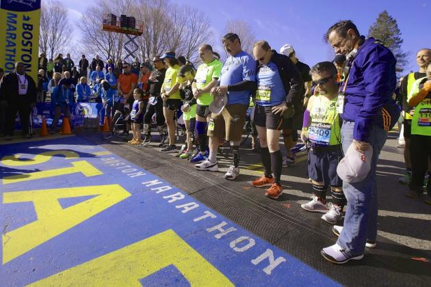 Live: 118th Running of Boston Marathon