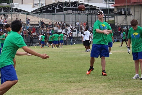 Browns Tight End Gary Barnidge Spreads Football to Brazil