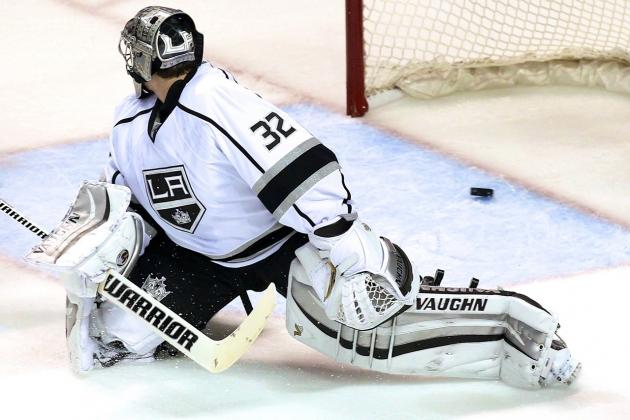 San Jose Sharks Run Up the Score vs. Kings: What's Happened to Jonathan Quick?