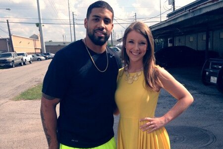 Texans Fan Gets Real Photo with Foster