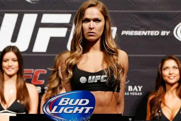 Apparel Brand Will Give $5K to First Woman Who Knocks out Ronda Rousey