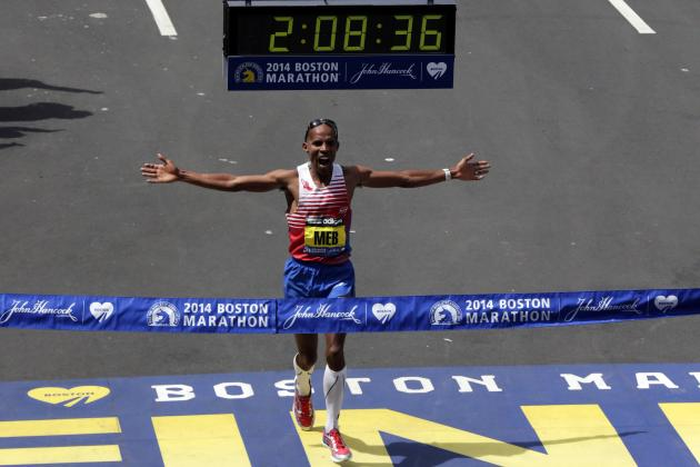 Meb Keflezighi Stuns to Win Boston Marathon