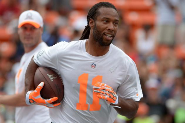 Cardinals Wide Receiver Larry Fitzgerald 'Bound to Improve' in 2014