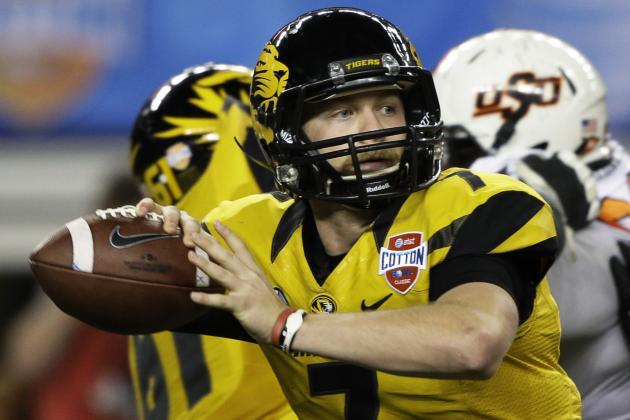 With Maty Mauk, Mizzou Will Challenge Auburn for Best QB in the SEC