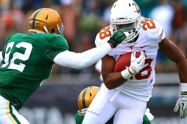 Texas vs. Baylor Rivalry Heating Up Is Just What Big 12 Football Needs