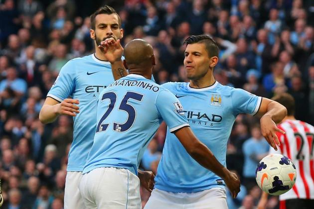 Manchester City vs. West Brom: Live Player Ratings for Manuel Pellegrini's Side