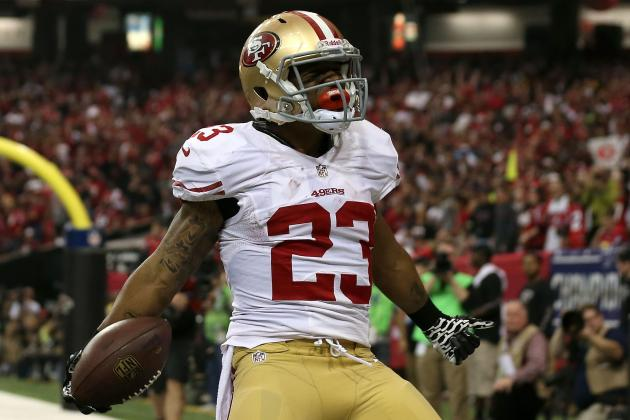 Report: LaMichael James Absent at 49ers' Workouts