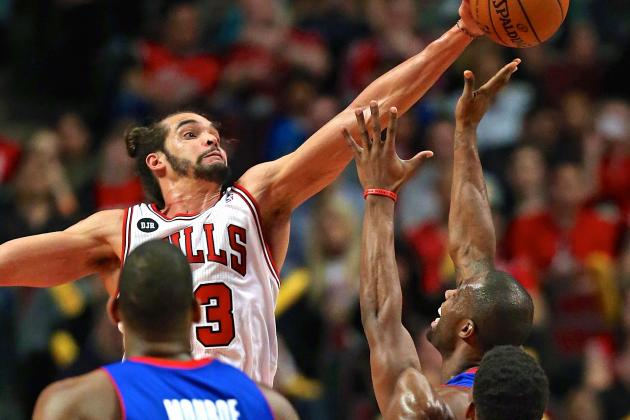 Joakim Noah Wins 2013-14 Defensive Player of the Year Award