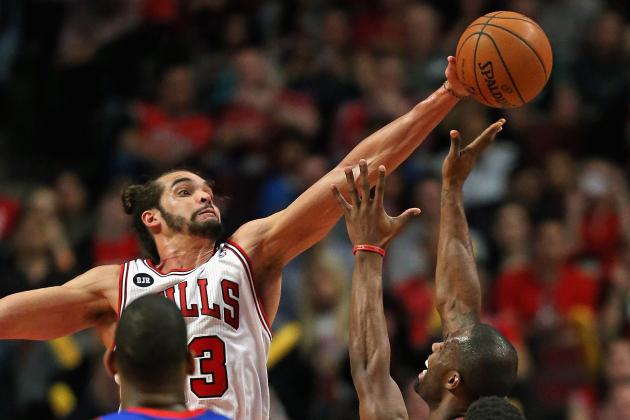 Joakim Noah, Michael Jordan Only Bulls Ever to Win Defensive Player of the Year