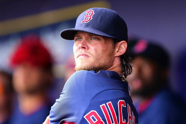 Clay Buchholz and Other Red Sox Sleep at Fenway Park Ahead of Patriots' Day