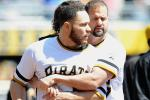 Pirates' Martin Challenges Brewers' Maldonado to Charity Fight