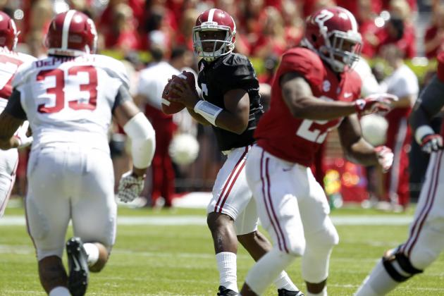 Alabama Football: What QB Blake Sims Must Do to Improve