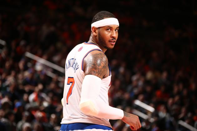 Report: Carmelo Anthony Wants 'The Dwight Howard Treatment' in Free Agency