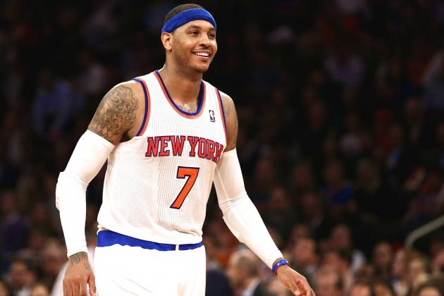 Report: Chicago Bulls 'Increasingly Optimistic' About Landing Carmelo Anthony