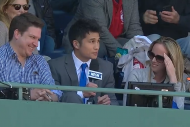 Red Sox Fan's Horribly Dropped Foul Ball Leads to Funny Interview and Free Gift