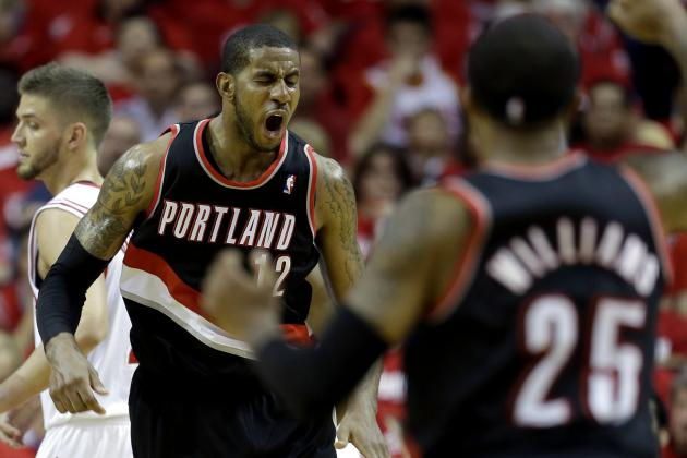 LaMarcus Aldridge Sets Blazers Playoff Record with 46 Points