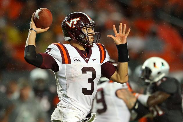 The Case for Logan Thomas as NFL Draft's Most Intriguing QB Prospect