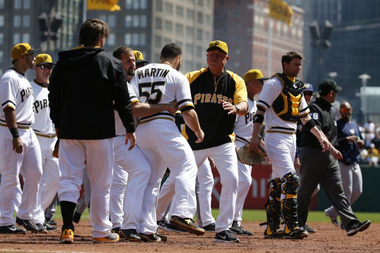 Sunday's Brawl May Have Been Exactly What Pittsburgh Pirates Needed