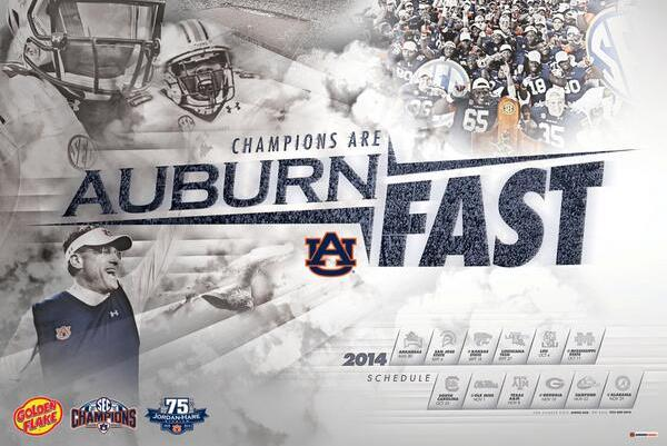 New Auburn Poster Makes One Thing Clear
