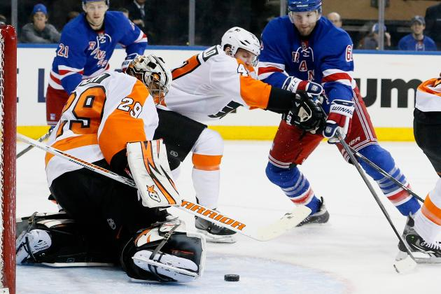 Early Report Card for Philadelphia Flyers' Goaltending in Stanley Cup Playoffs