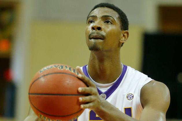 Reports: LSU Freshman Jordan Mickey Still Undecided on 2014 NBA Draft