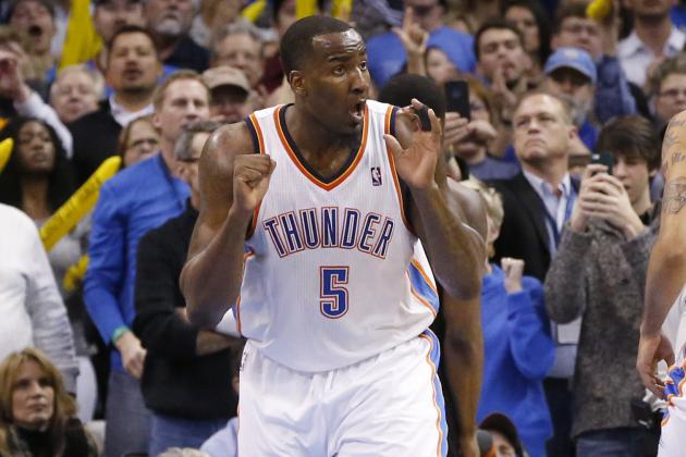 Kendrick Perkins Forces Overtime with Buzzer-Beating Tip Against Grizzlies