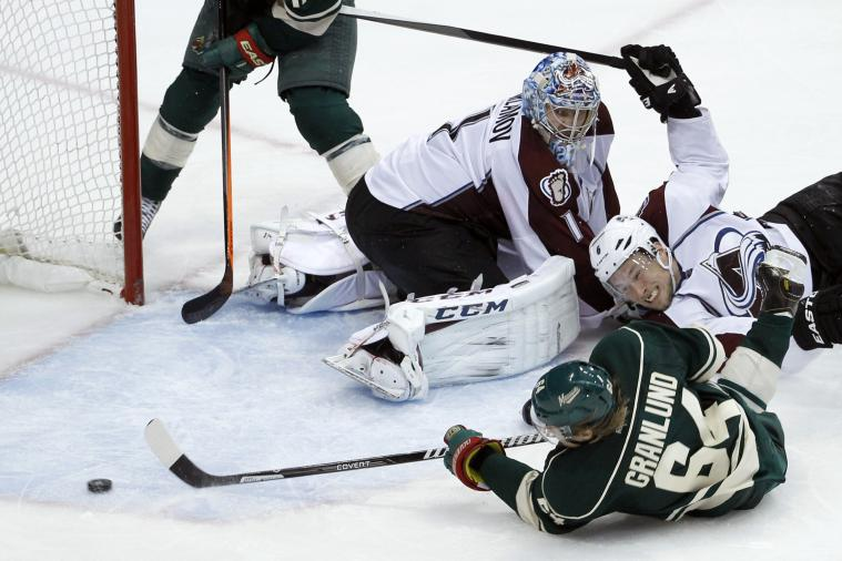 Wild's Mikael Granlund Beats Avalanche in OT with Incredible Goal While on Ice