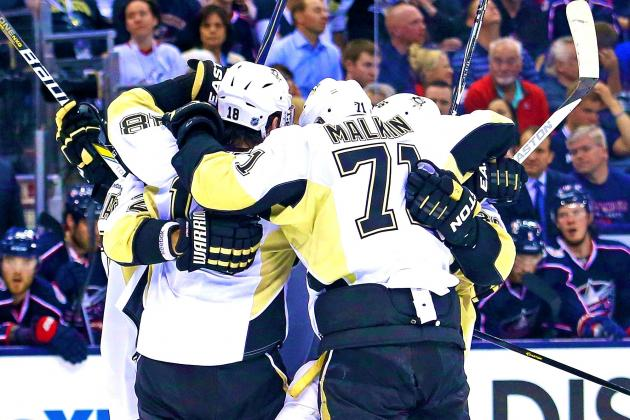 Penguins' Explosive Offense Salvages Another Win in Game 3 vs. Blue Jackets