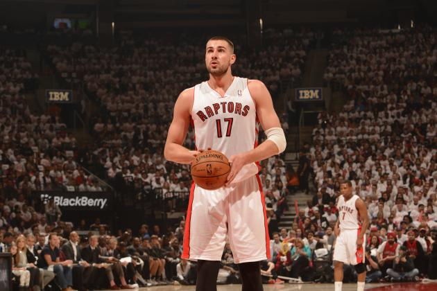 Jonas Valanciunas Will Be Toronto Raptors' Playoff X-Factor