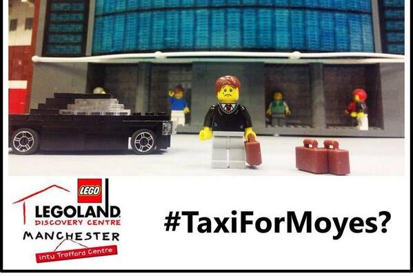 Manchester United Manager David Moyes Now Trolled by Lego