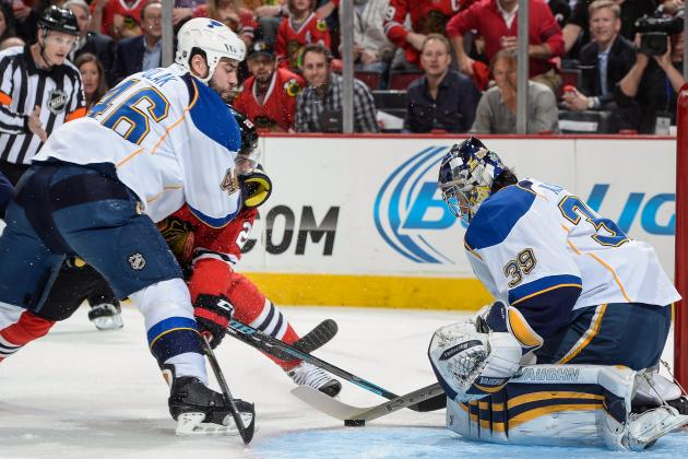 St. Louis Blues Focus on Chicago Blackhawks, Not Last Season's Early Exit