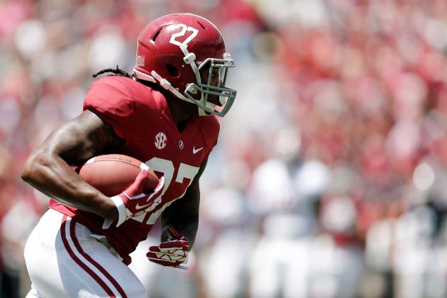 Alabama Football: Derrick Henry Is Crimson Tide's Best Bet at Starting RB