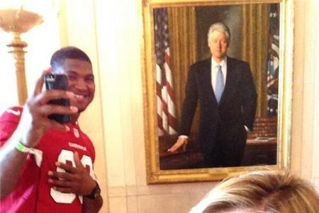 Campbell Spends Monday at White House