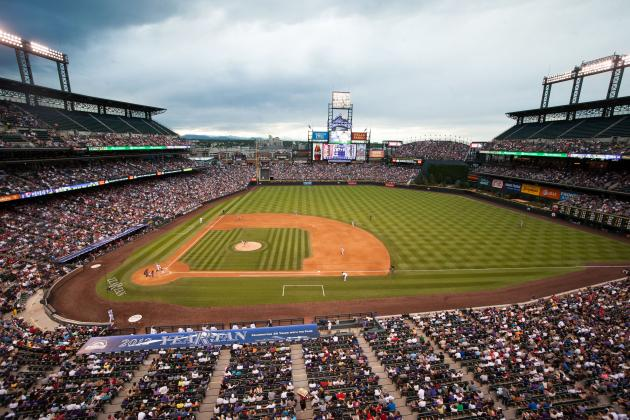 Colorado Rockies Put Up Signs Prohibiting Marijuana in Smoking Areas
