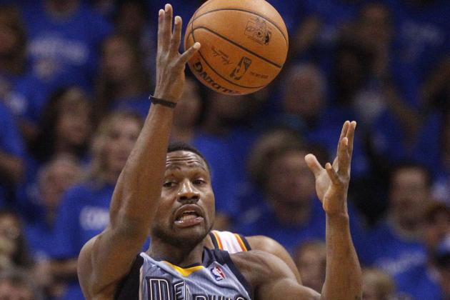 Tony Allen's Defense, Cuts and Chaos Key Grizzlies' Game 2 Victory over Thunder